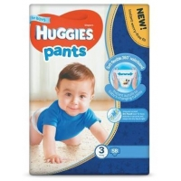 Scutece Chilotel Huggies Mega Pack 3, Boy, 6-11 Kg, 58 buc