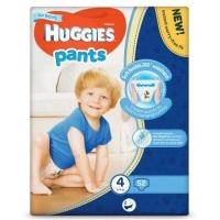Scutece Chilotel Huggies Mega Pack 4, Boy, 9-14 Kg, 52 buc