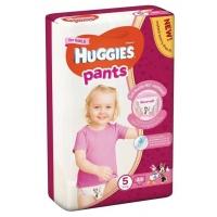 Scutece Chilotel Huggies Mega Pack 5, Girl, 12-17 Kg, 44 buc