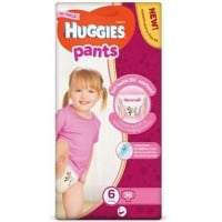 Scutece Chilotel Huggies Mega Pack 6, Girl, 15-25 Kg, 36 buc