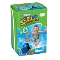 Scutece Chilotel Pentru Apa Huggies Little Swimmers 3-4, 7-15 Kg, 12 buc