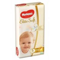 Scutece Huggies Elite Soft Mega 5, 12-22 Kg, 56 buc