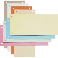 Separatoare biblioraft 105 x 240 mm, 100/set, ELBA - chamois