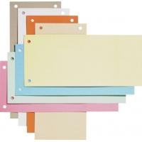 Separatoare biblioraft 105 x 240 mm, 100/set, ELBA - albastru