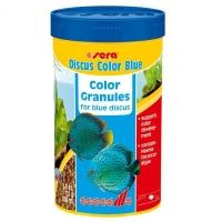 Hrana pentru pesti Sera Discus Color Blue 250 ml
