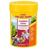 Hrana Granulata pentru Pesti Sera Goldy Color cu Spirulina 100 ml
