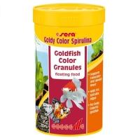 Hrana Granulata pentru Pesti Sera Goldy Color cu Spirulina 250 ml