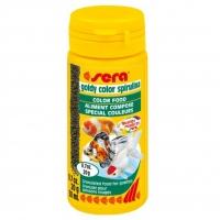 Hrana Granulata pentru Pesti Sera Goldy Color cu Spirulina 50 ml