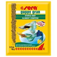 Hrana Granulata Vegetala pentru Pesti Sera Guppy Gran 10 g