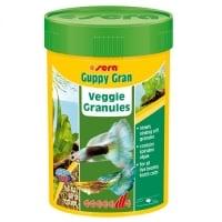 Hrana Granulata Vegetala pentru Pesti Sera Guppy Gran 100 ml
