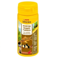 Hrana Vegetala pentru Pesti Sera Viformo 50 ml, 130 Tablete
