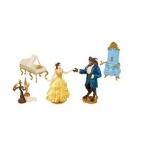 Set 5 Figurine Disney, Frumoasa si Bestia