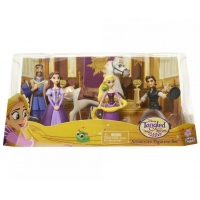 Set 5 Figurine Disney, Rapunzel