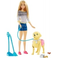 Set Barbie Family Catel Si Accesorii