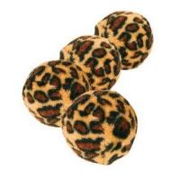 Set 4 Mingi Leopard, 3.5 cm