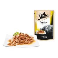 Sheba Plic cu Pui in Sos, 85 g