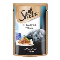 Sheba Plic cu Ton in Sos, 85 g