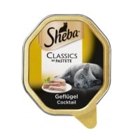 Sheba Tray Pate Cocktail Pasare, 85 g