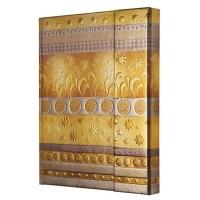 Caiet lux cu magnet, coperti rigide, A6(115 x 140mm), 97 file, Conceptum - golden summer design - di