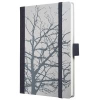 Caiet lux cu elastic, coperti rigide, A6(95 x 140mm), 97 file, Conceptum - nature feeling design - v
