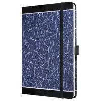 Caiet lux cu elastic, coperti rigide, A5(130 x 200mm), 97 file, Conceptum - magic letters design - d