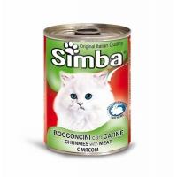 Simba Cat cu Vitel 415 g