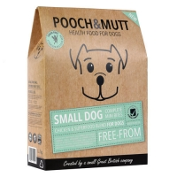Hrana Uscata PoochΜtt Grain Free, Small Dog, 1 kg