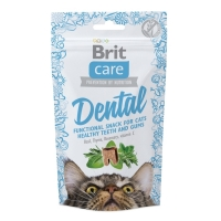 Snack Brit Care Cat Dental, 50 g