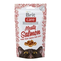 Snack Brit Care Cat Meaty Somon, 50 g