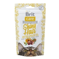 Snack Brit Care Cat Shiny Hair, 50 g