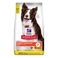 HILL'S Science Plan Medium Adult, Pui cu Orez Brun, pachet economic hrană uscată câini, sensibilități digestive, 14kg x 2