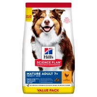 Hill's SP Canine Mature Medium Pui, Value Pack,  18 Kg