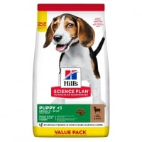 Hill's SP Canine Puppy Medium Lamb&Rice, Value Pack, 18 Kg