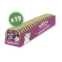 LILY'S KITCHEN Halloween Spooky Pate, Pui, pachet economic taviță hrană umedă fără cereale pisici, (Pate), 85g x 19