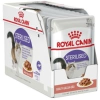 Pachet Royal Canin Sterilised, 12 x 85 g