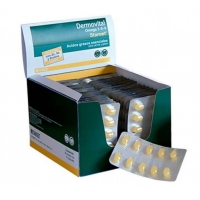 Supliment Piele Si Blana Caini Si Pisici DermoVital Omega 3-6-9, 10 tablete