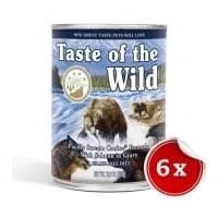 Pachet Conserve Taste Of The Wild Pacific Stream, 6x390 g