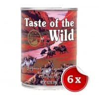Pachet Conserve Taste of The Wild SouthWest Canyon, 6x390 g