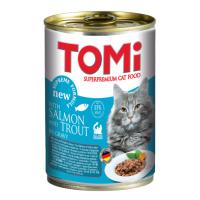 Conserva Tomi Cat Somon si Pastrav, 400 g