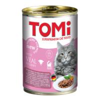 Conserva Tomi Cat cu Vitel, 400 g