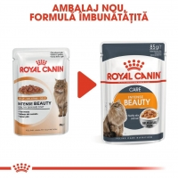 Pachet Royal Canin Intense Beauty in Jelly, 12 x 85 g