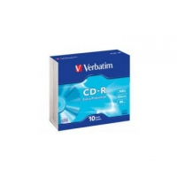 VERBATIM CD-R 52X 700MB EXPROT SLIM