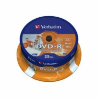 VERBATIM DVD-R 16X 4,7GB SP25/PK