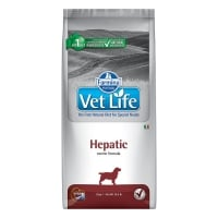 Vet Life Natural Diet Dog Hepatic 12 kg