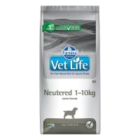 Vet Life Natural Diet Dog Neutered 1-10kg 2 kg