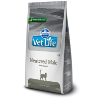 Vet Life Natural Diet Cat Neutered Male 2 kg