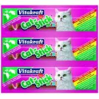 Cat Stick Mini Iepure si Rata - 3 bucati x 6g