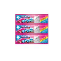 Vitakraft Cat Stick Mini Somon Si Pastrav - 3 Bucati