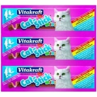 Cat Stick Mini Somon si Pastrav - 3 bucati X 6g