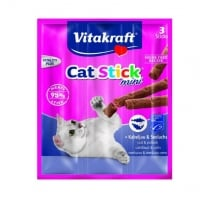 Vitakraft Cat Sticks Cod Si Merluciu, 18 g